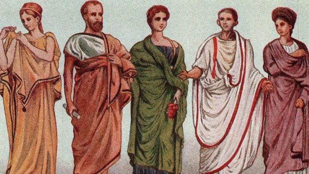 ملابس الايطاليين القدماء