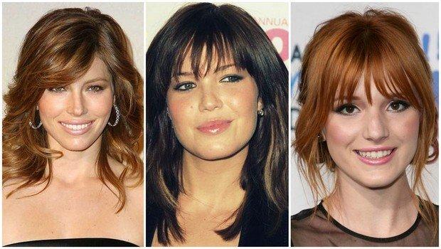 قصات شعر حسب أشكال الوجه
