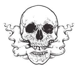 اضرار التدخين - الموت قادم