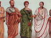 الحضارة الرومانية ملابس