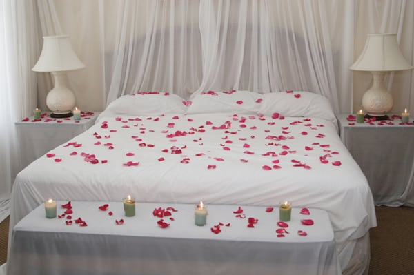 تزيين غرف رومانسية