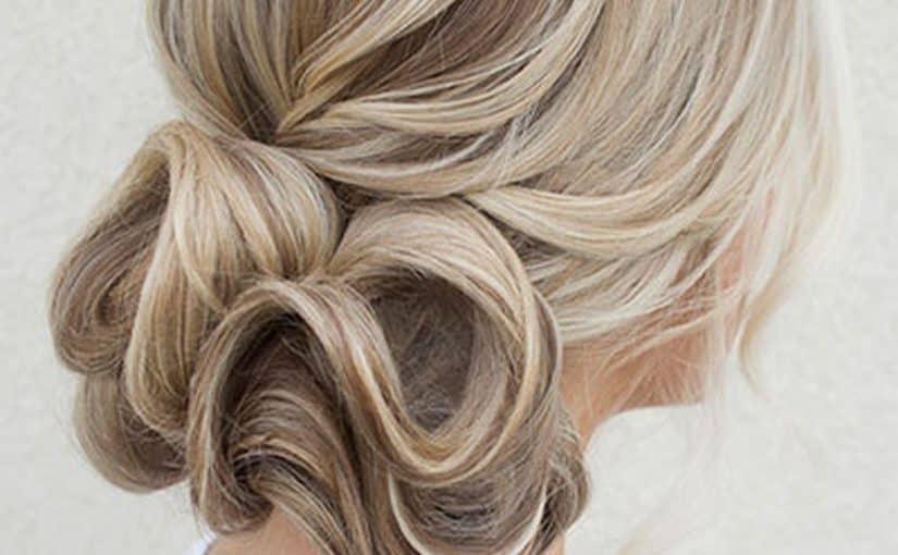تسريحات شعر من الخلف