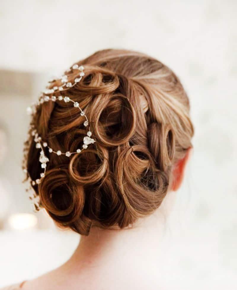 تسريحة شعر الوردة