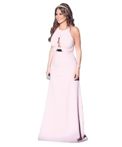 صور فستان اليسا الوردي