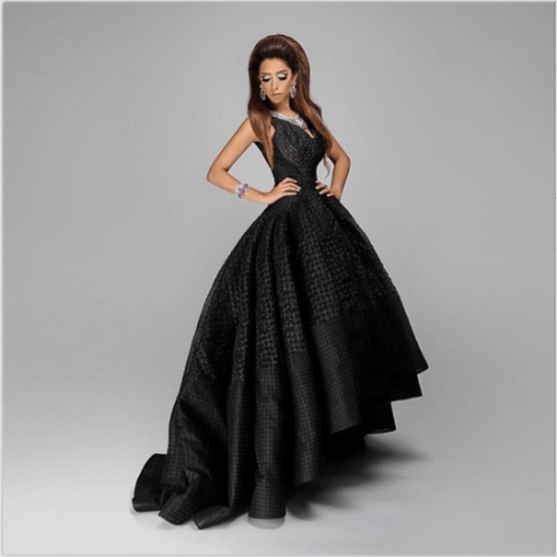 4770730b6e78e فستان أسود قصير وطويل - موسوعة