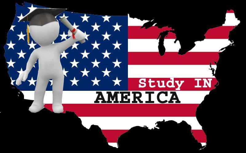 يدرسون في امريكا