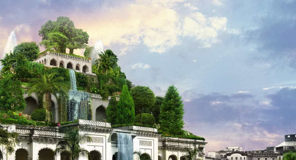 حدائق بابل المُعلقة بالعراق