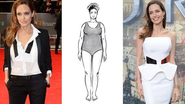 أزياء الجسم المتوسط