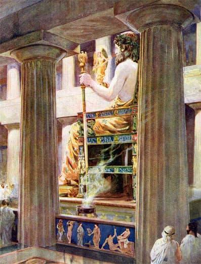 تمثال زيوس اليونان
