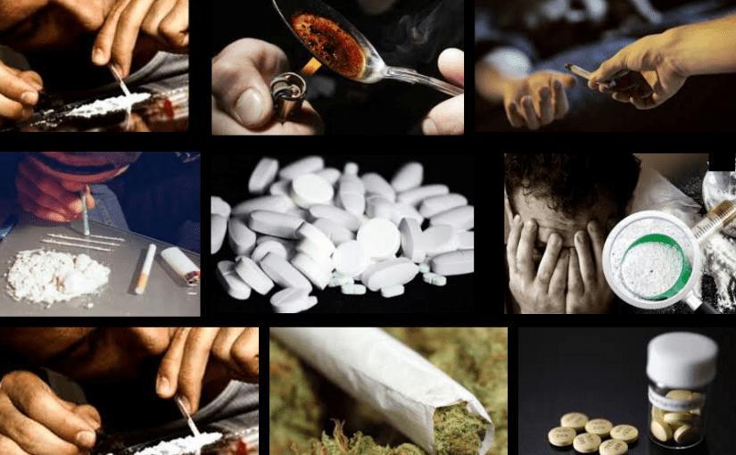 بحث عن المخدرات