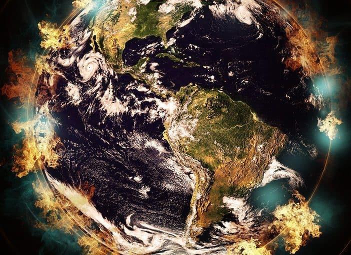 تلوث البيئة الأرضية