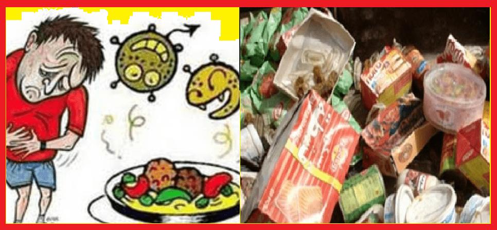 تلوث البيئة- تلوث الطعام