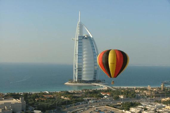 سعر ركوب المنطاد في دبي