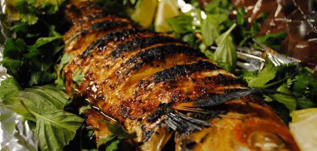 طريقة عمل سمك بوري صينية