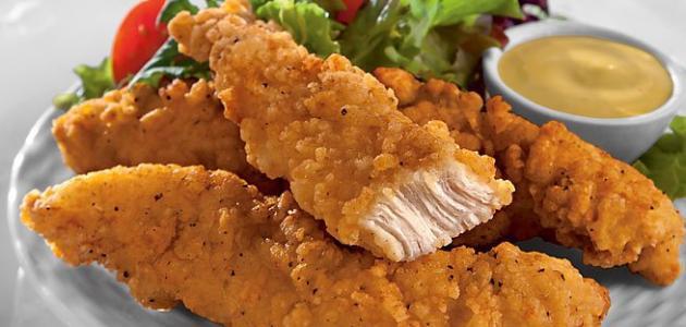 طريقة عمل دجاج مقلي كنتاكي