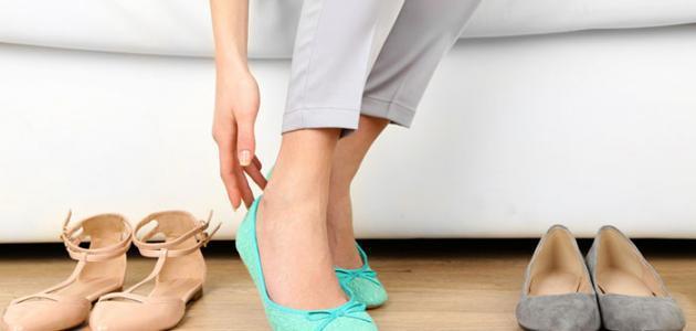 كيفية جعل الحذاء مريح