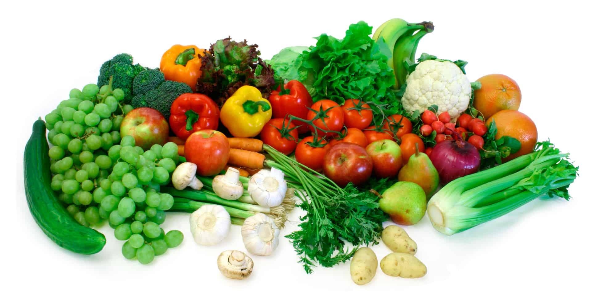 الأطعمة الطازجة وفوائدها
