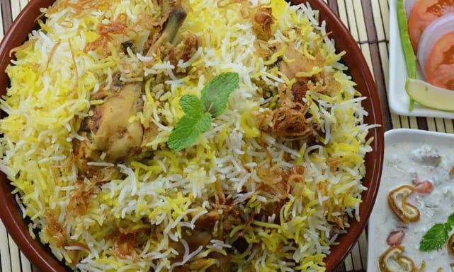 أسهل وصفات و طريقة برياني دجاج الحار والتقليدي
