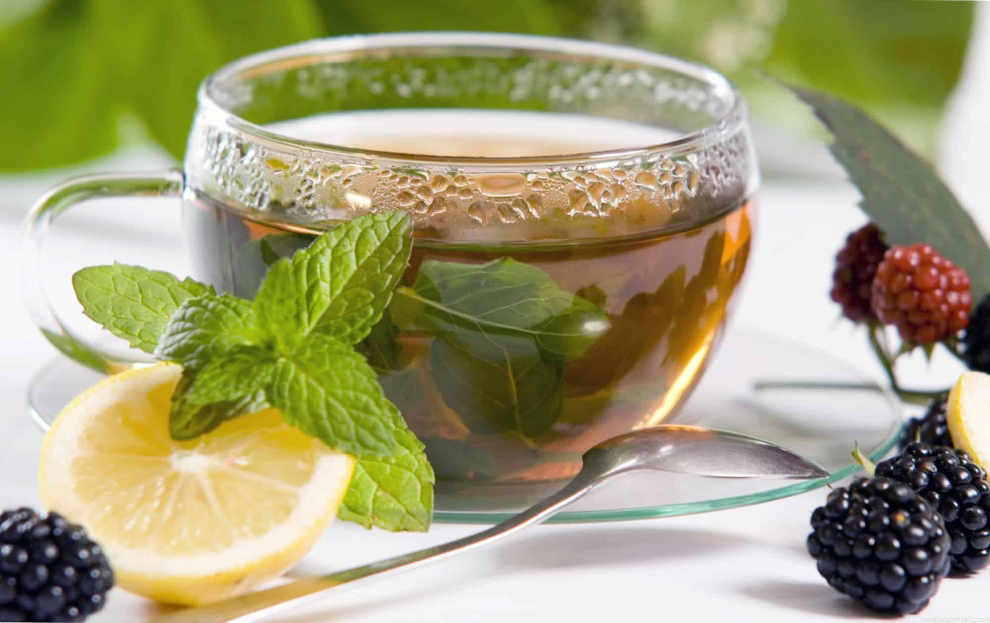 طريقة عمل شاي النعناع