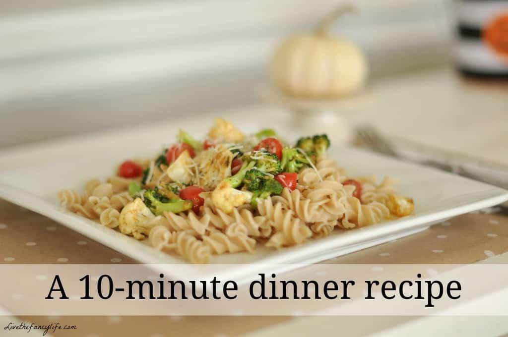 أكلات سريعة للعشاء
