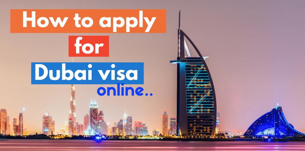 الحصول على تأشيرة دبي أون لاين