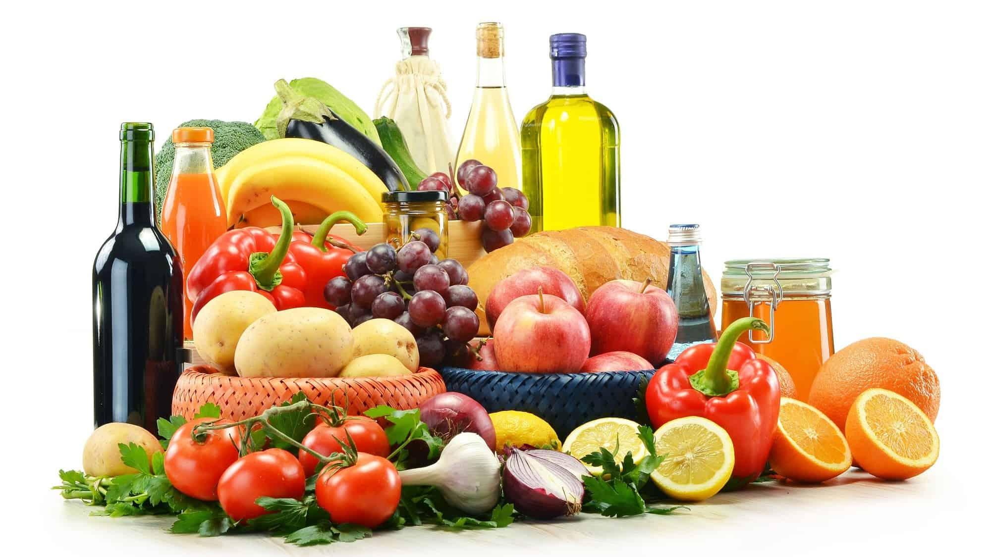 الغذاء الصحي والغير صحي