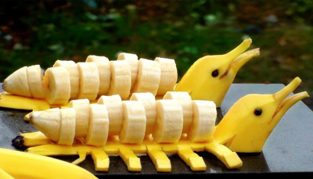 تزيين الموز