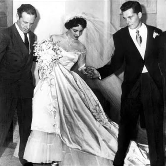 صور فساتين زفاف الستينات