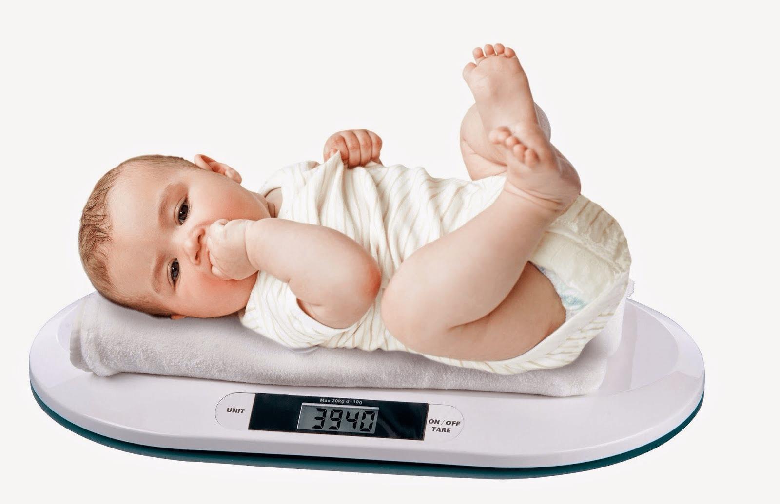 طريقة حساب وزن الطفل حسب العمر