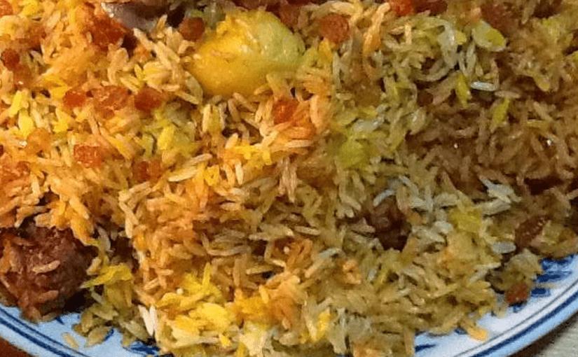 طريقة عمل الرز الكابلي المديني