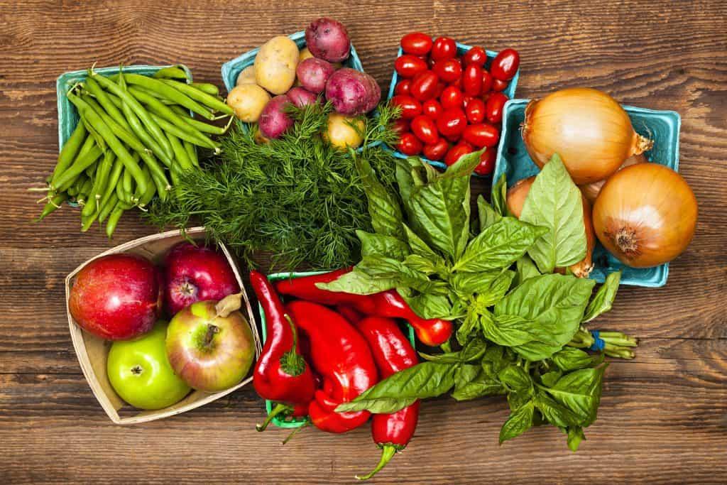 فن تزيين الأطباق بالخضروات
