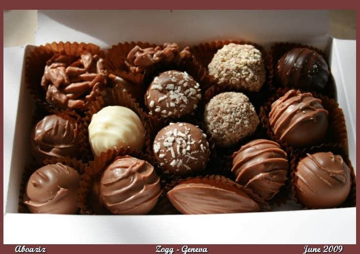 الشوكولاته البلجيكية في جدة