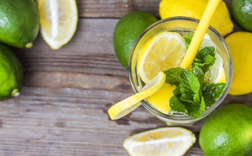 طريقة عمل عصير الليمون والنعناع
