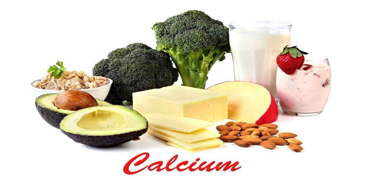 أطعمة تحتوي على الكالسيوم