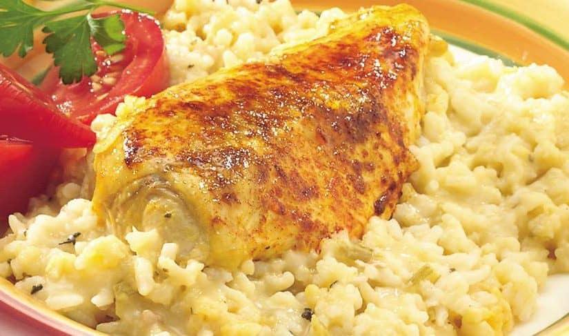 أكلات بالدجاج والأرز