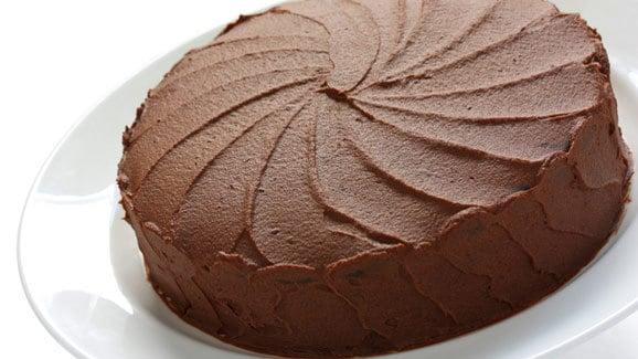 كيكة الشوكولاتة الإسفنجية