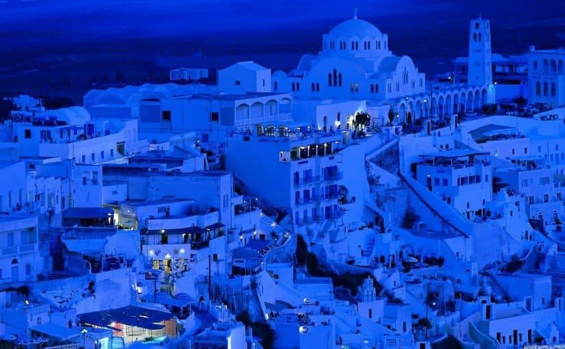 موقع قرية الزرقاء