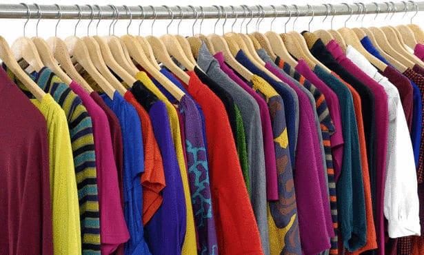 جميع الألوان ودرجاتها للملابس