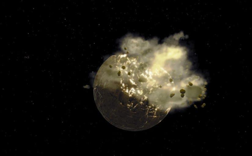 تفسير انفجار القمر في المنام موسوعة