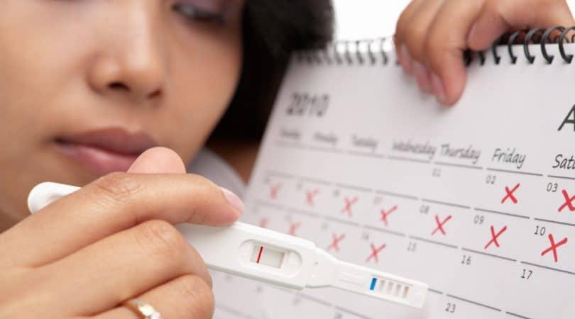 حساب الدورة الشهرية والحمل