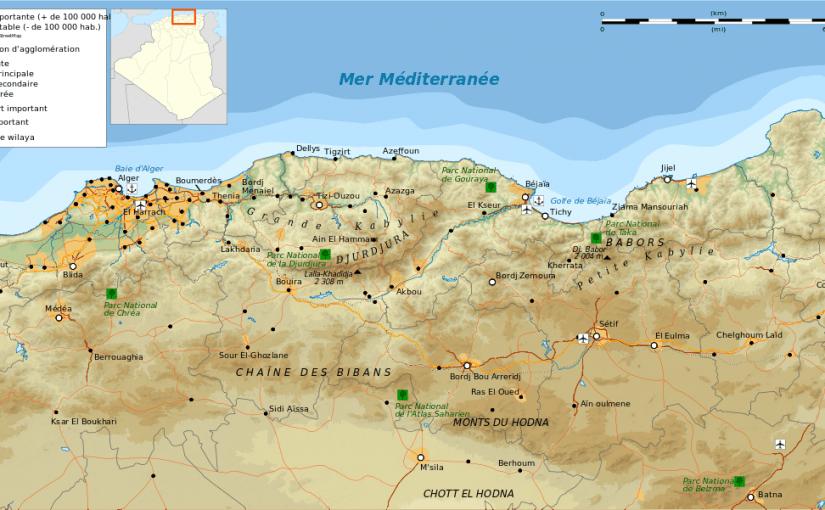 تضاريس المغرب العربى