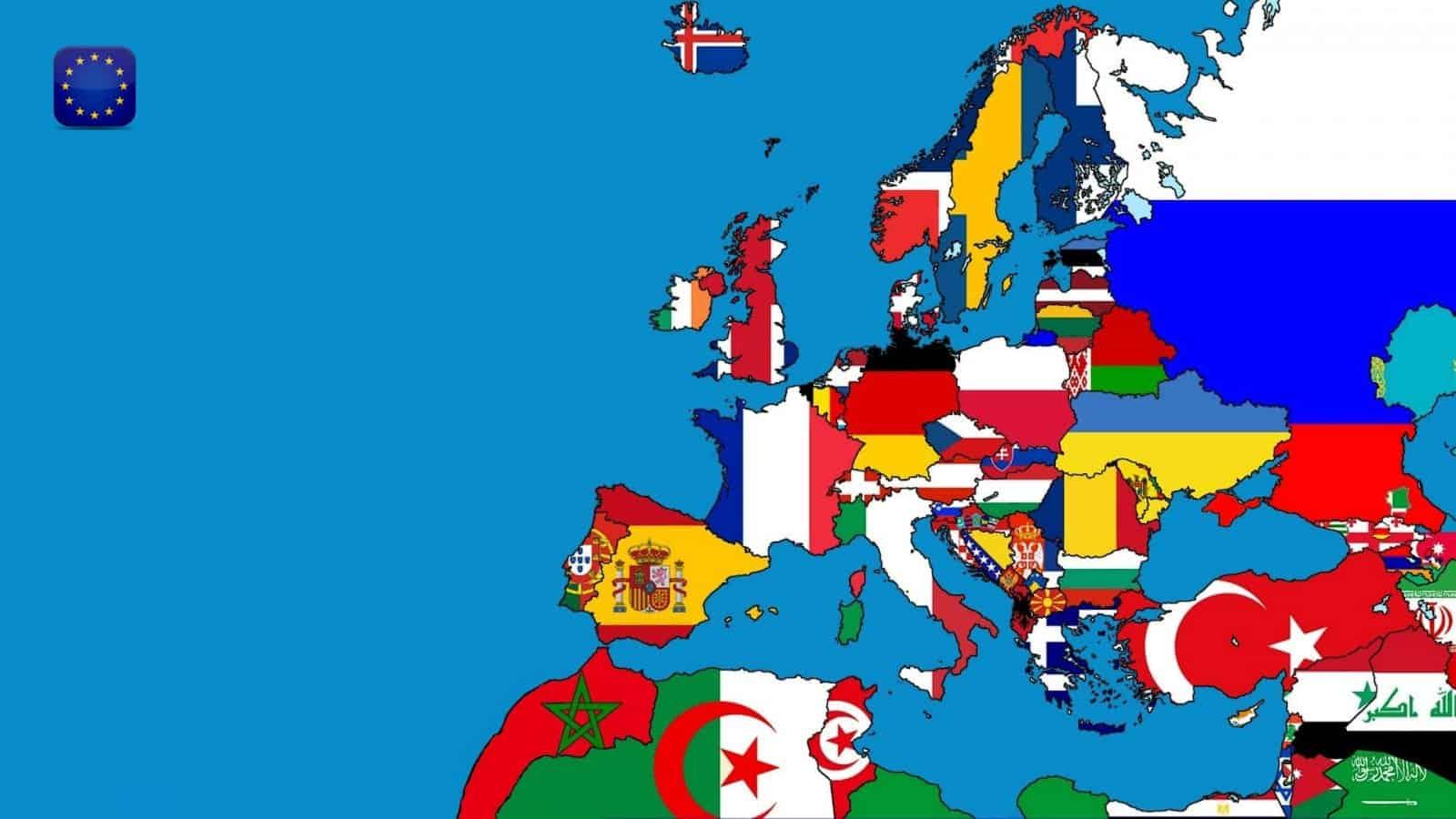 أسماء جميع دول أوروبا وعواصمها