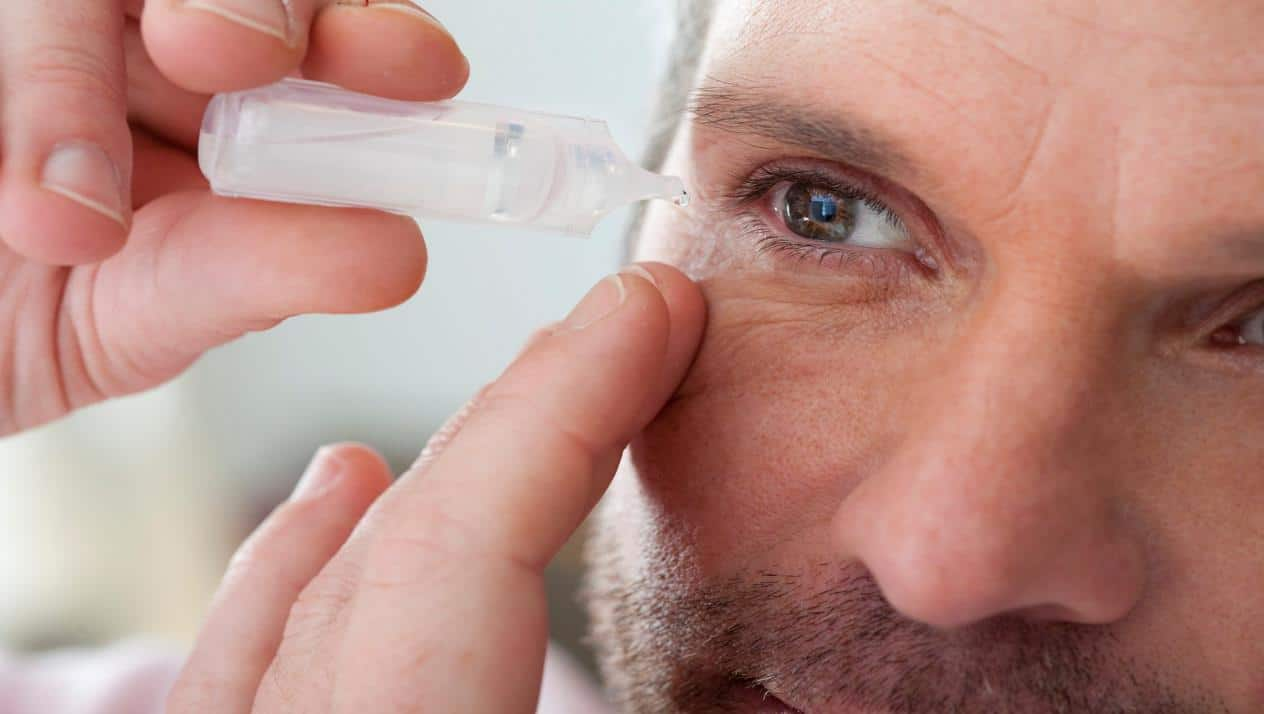 علاج جفاف العين الشديد