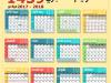 ما هي عدد أيام السنة الهجري والميلادي والصيني والفارسي