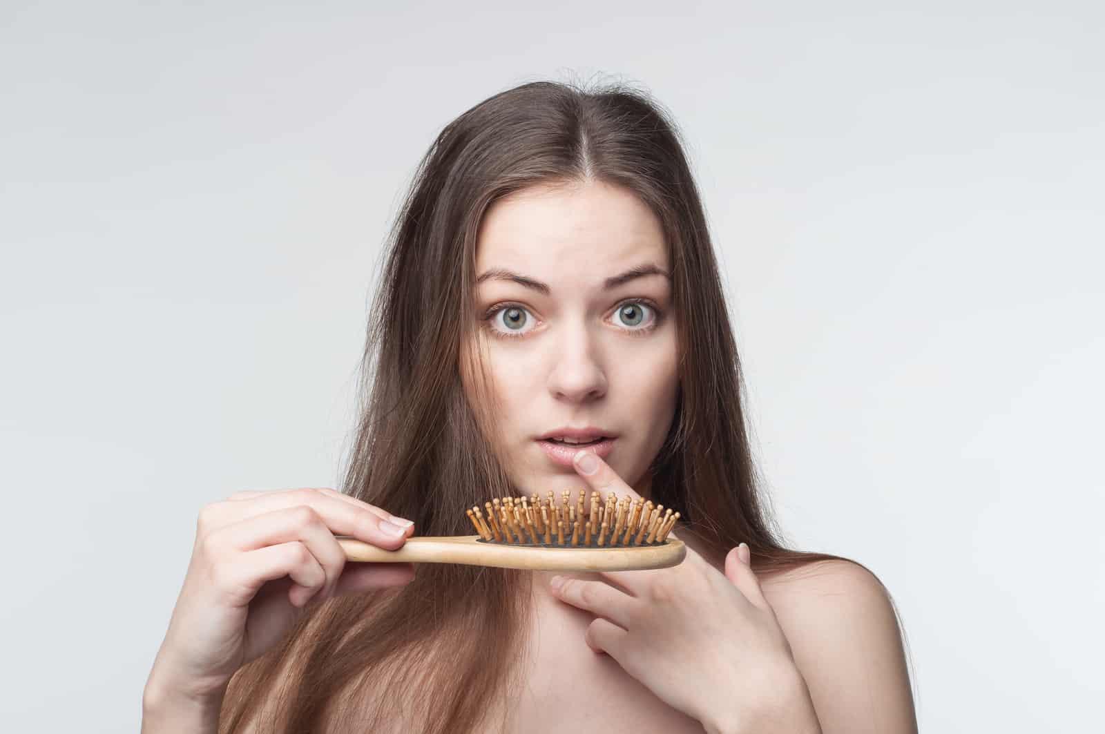 دور التغذية فى تساقط الشعر
