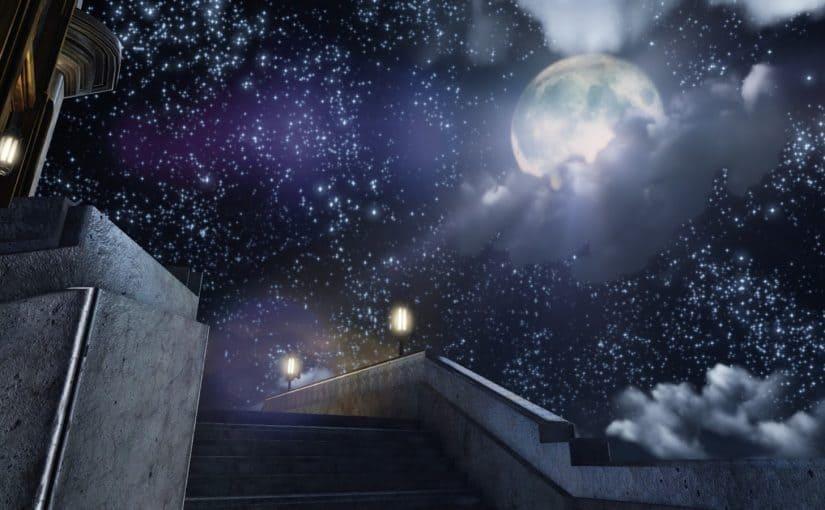 قصة خيالية قصيرة جدا عن القمر