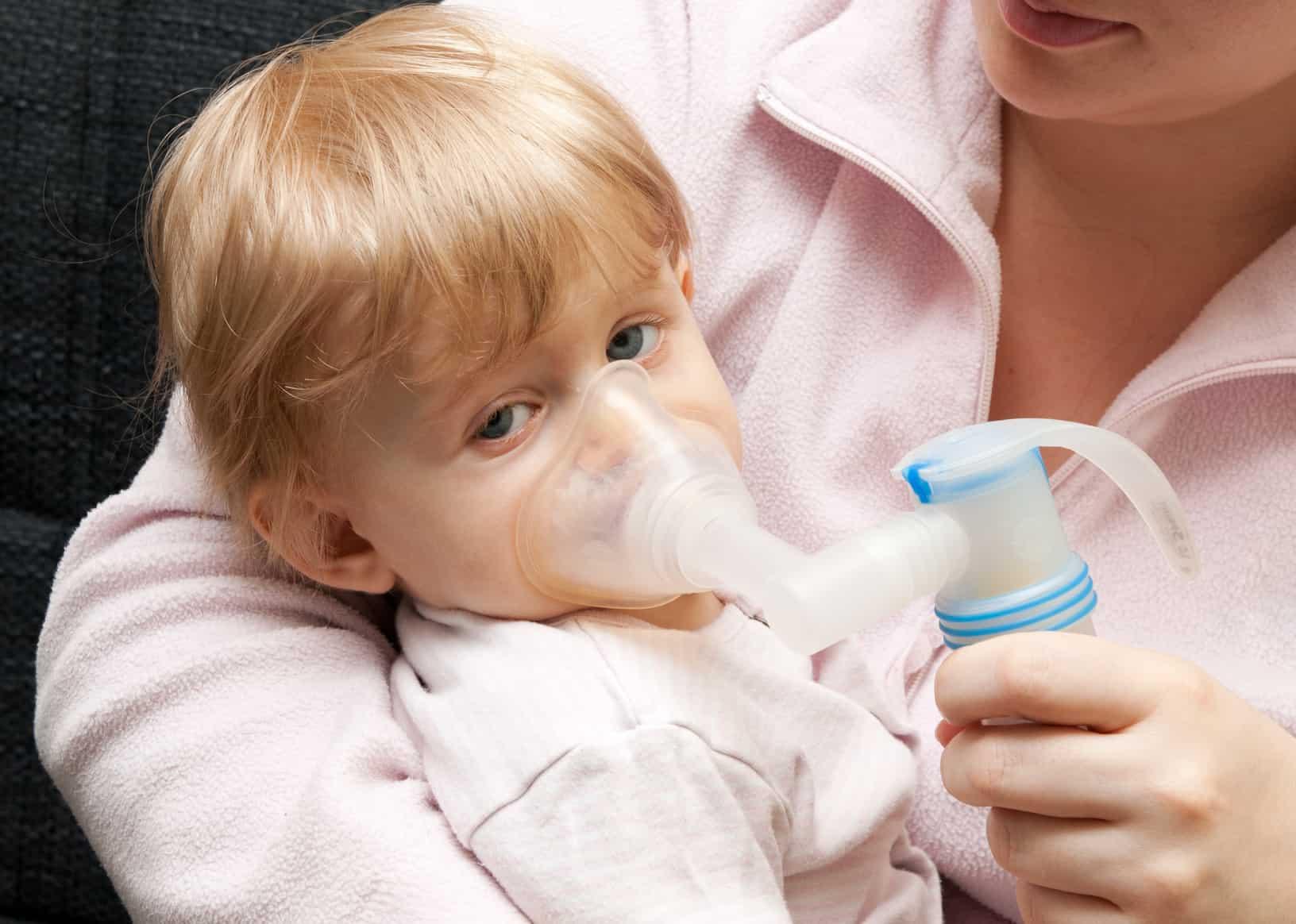 الالتهاب الرئوي عند الأطفال