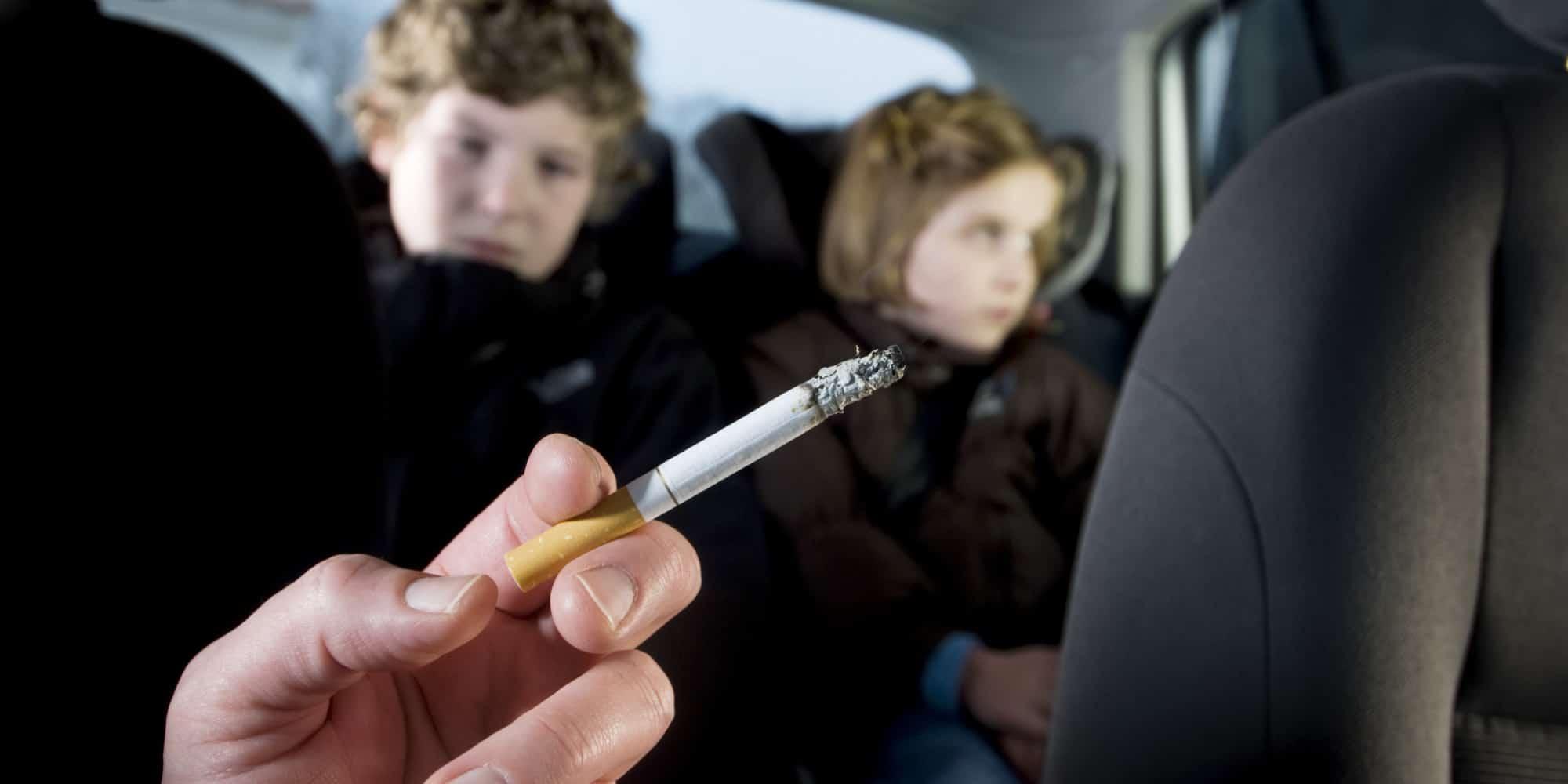 التدخين للأطفال