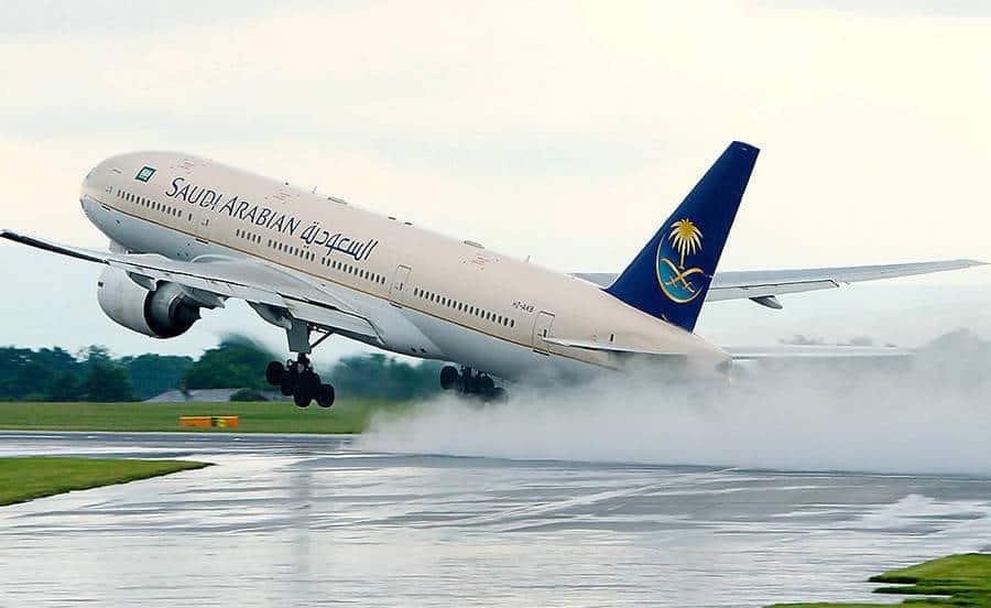 الحجز على الطيران السعودي
