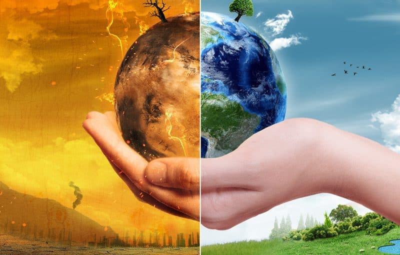 بحث حول البيئة